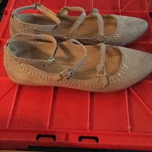 Shoes - *FIRM* Mix No. 6 Beige/taupe flats size 8.5